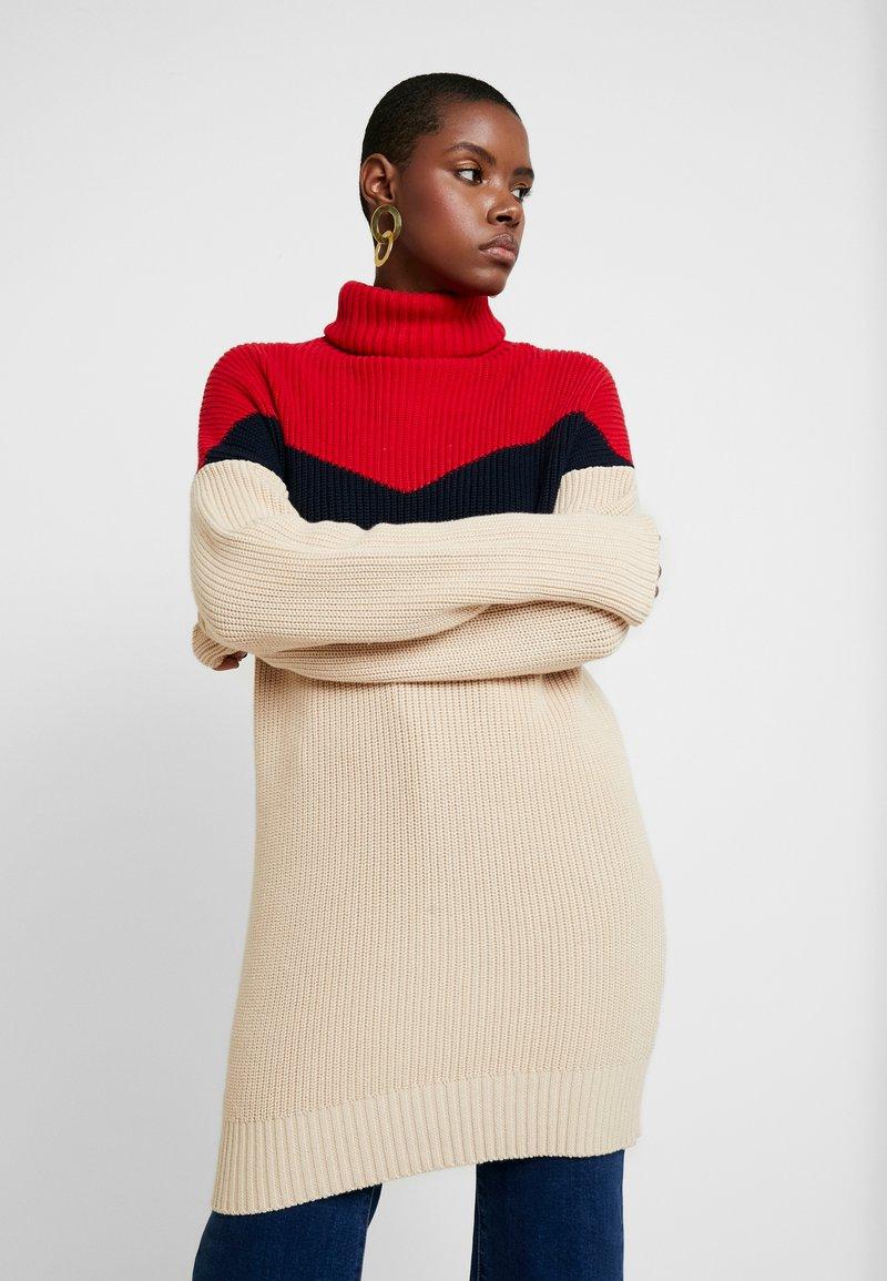 khujo - Pullover - red