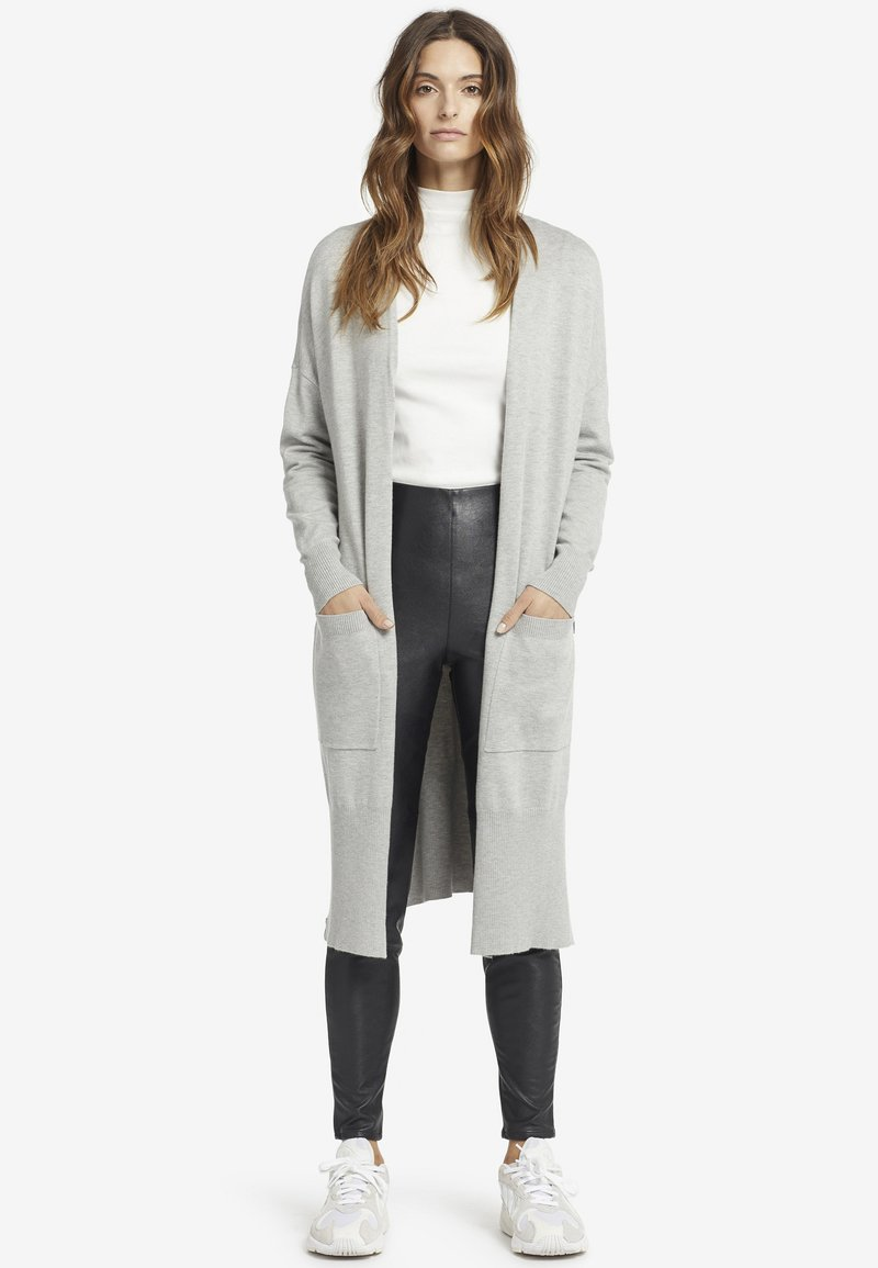 khujo - DORIT - Cardigan - light gray