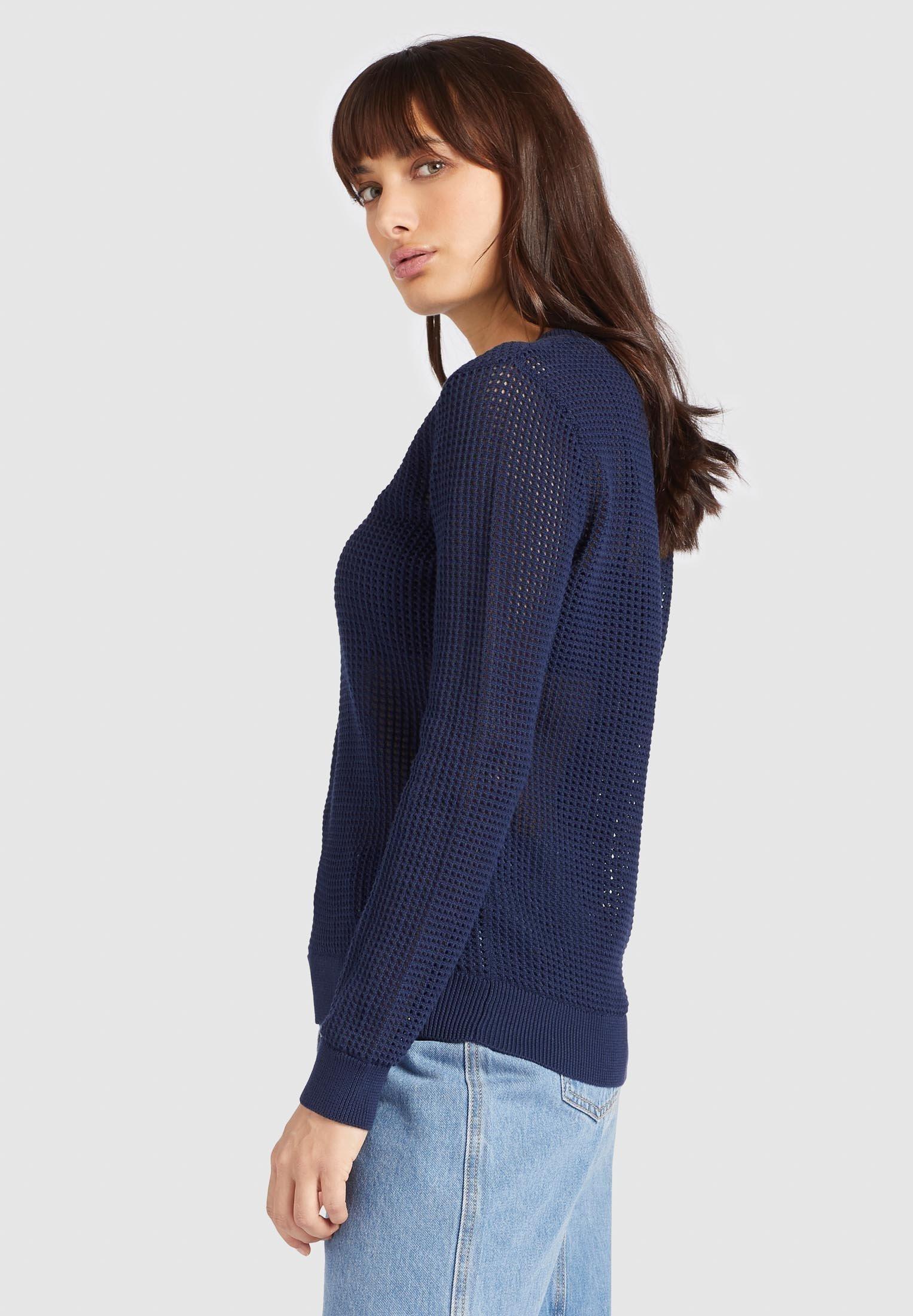 khujo COSIMA - Sweter - dark blue