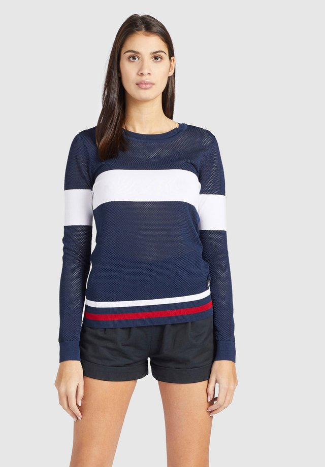 GESA - Jersey de punto - blue/white