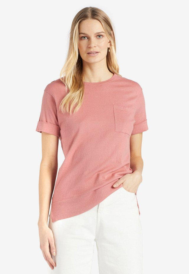 ALLMUT - T-shirt basic - pink