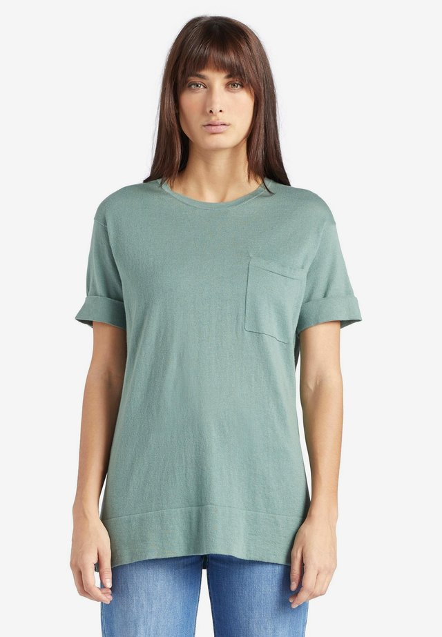 ALLMUT - T-shirt basic - mint
