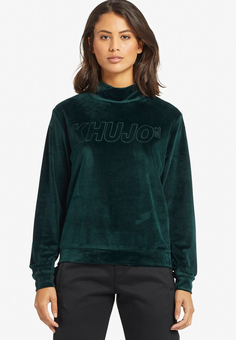 khujo - RISSA - Sweatshirt - turquoise