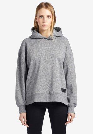 ESISTA - Felpa con cappuccio - light gray patterned