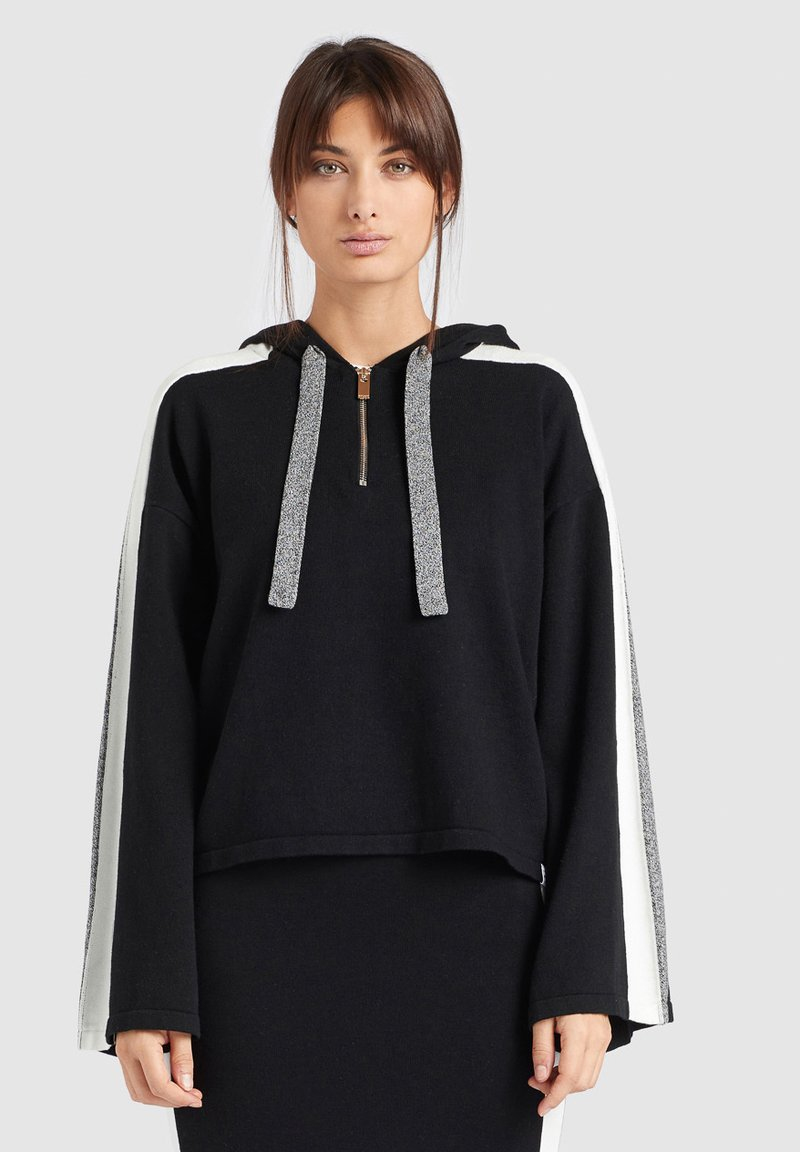 khujo - ZENGINA - Bluza z kapturem - black