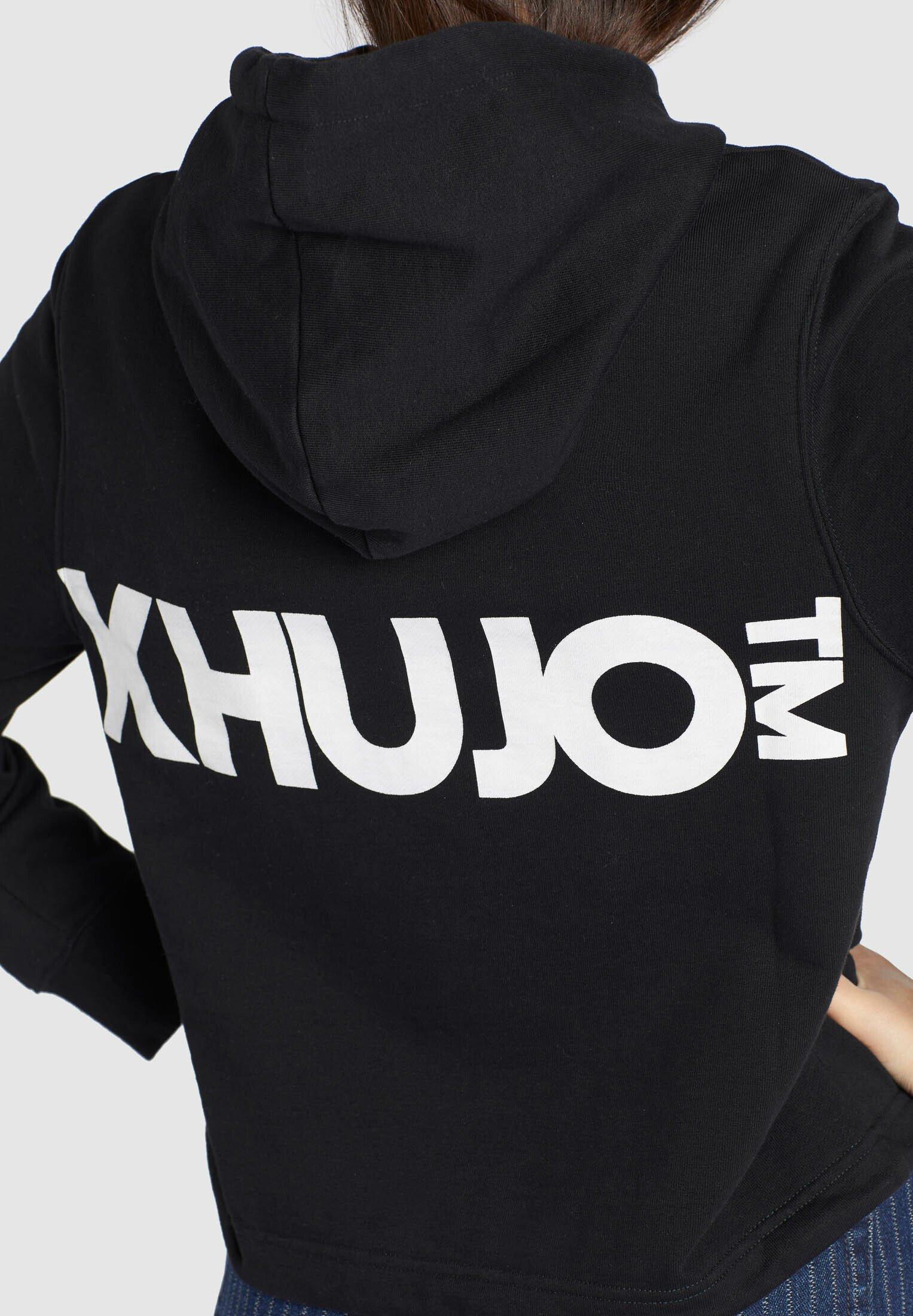 khujo ABALIE - Bluza z kapturem - black