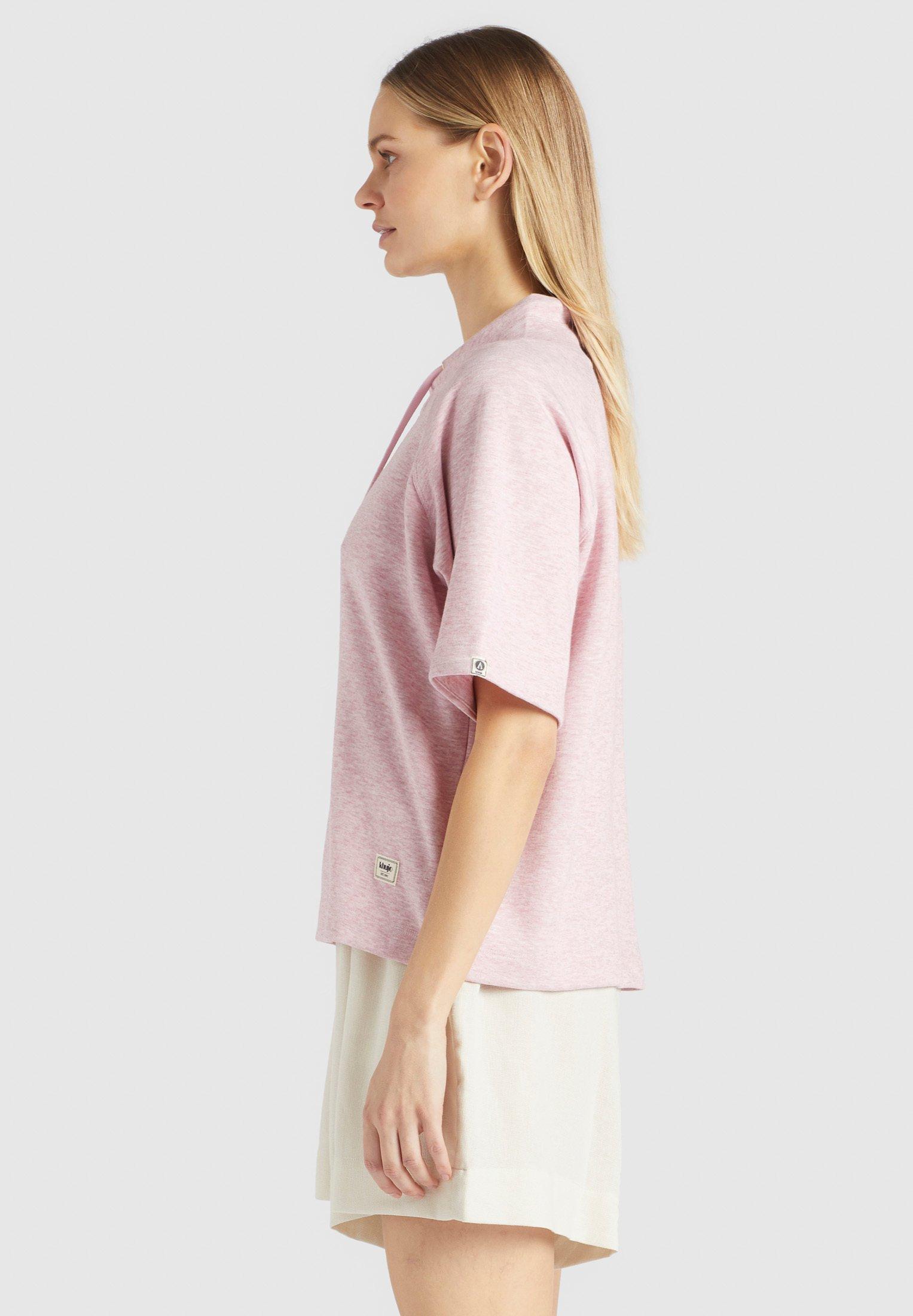 khujo T-shirt basic - pink