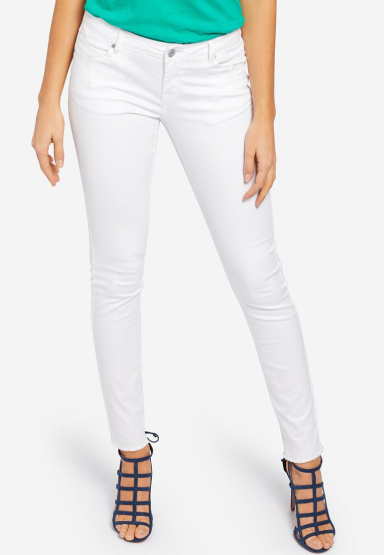 khujo - EMBER WASHED COLORED - Jeans Skinny Fit - white