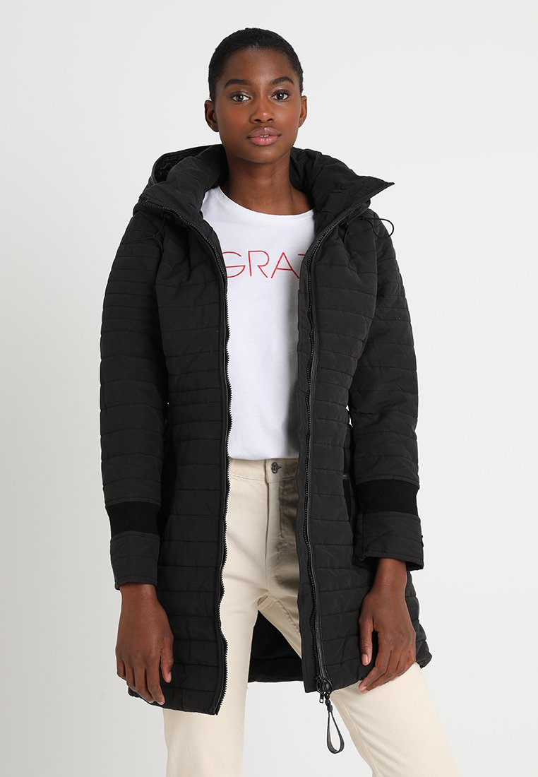khujo - DAILY - Abrigo corto - black