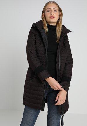 DAILY - Pitkä takki - marsala melange