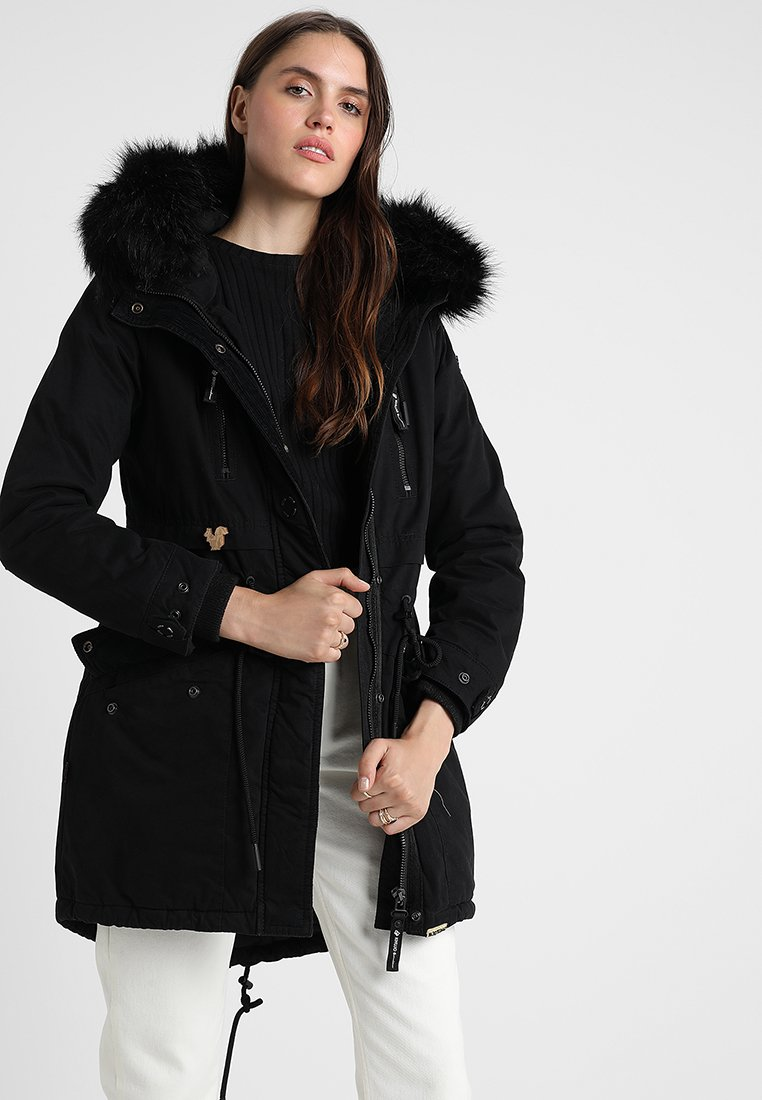 khujo - FREJA - Winter coat - black