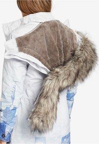 khujo - TIMEA - Cappotto invernale - white/blue - 4