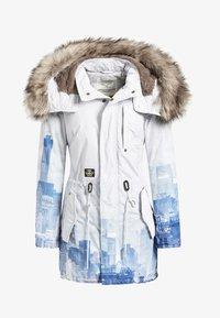 khujo - TIMEA - Cappotto invernale - white/blue - 5
