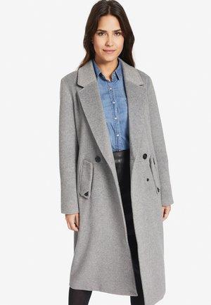 SANURA - Classic coat - mottled light grey