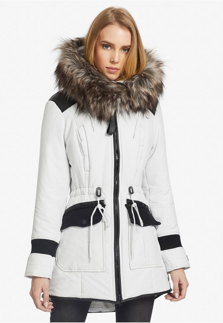 khujo - RETRO BUGS - Winter coat - white