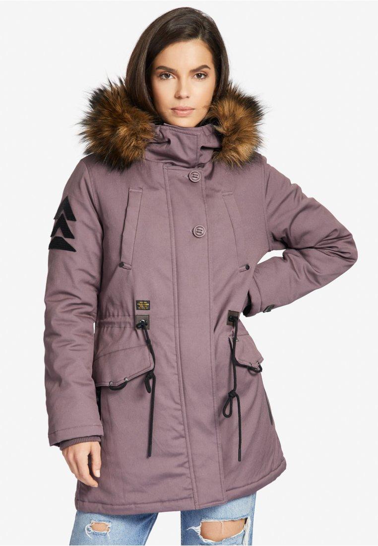 khujo - CRYSTEL - Winter coat - purple
