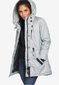 khujo - ASAMI - Abrigo de invierno - light grey - 5