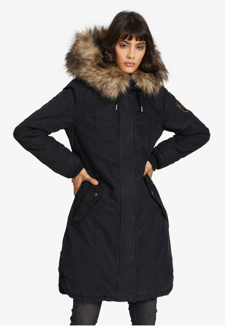 khujo - MERYEM2 - Winter coat - navy