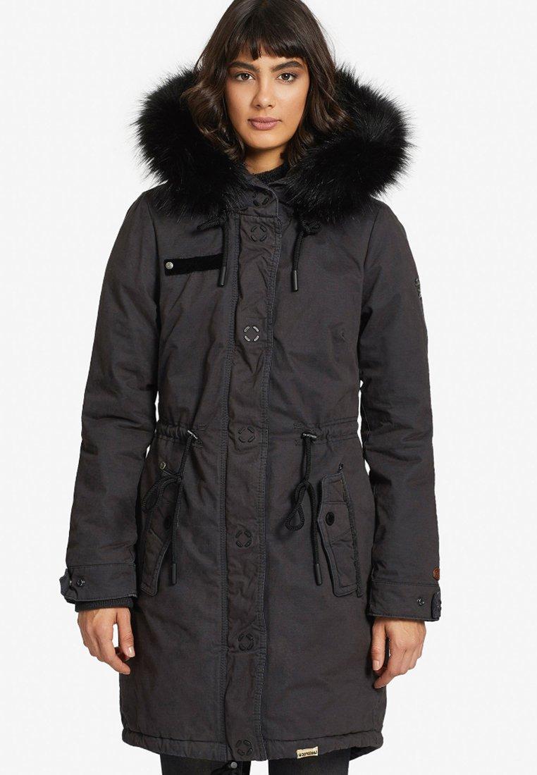 khujo - ADELISA - Winter coat - anthracite