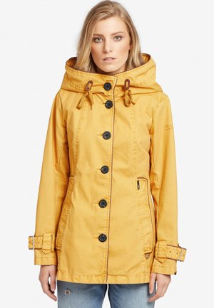 NUYDED - Parka - yellow