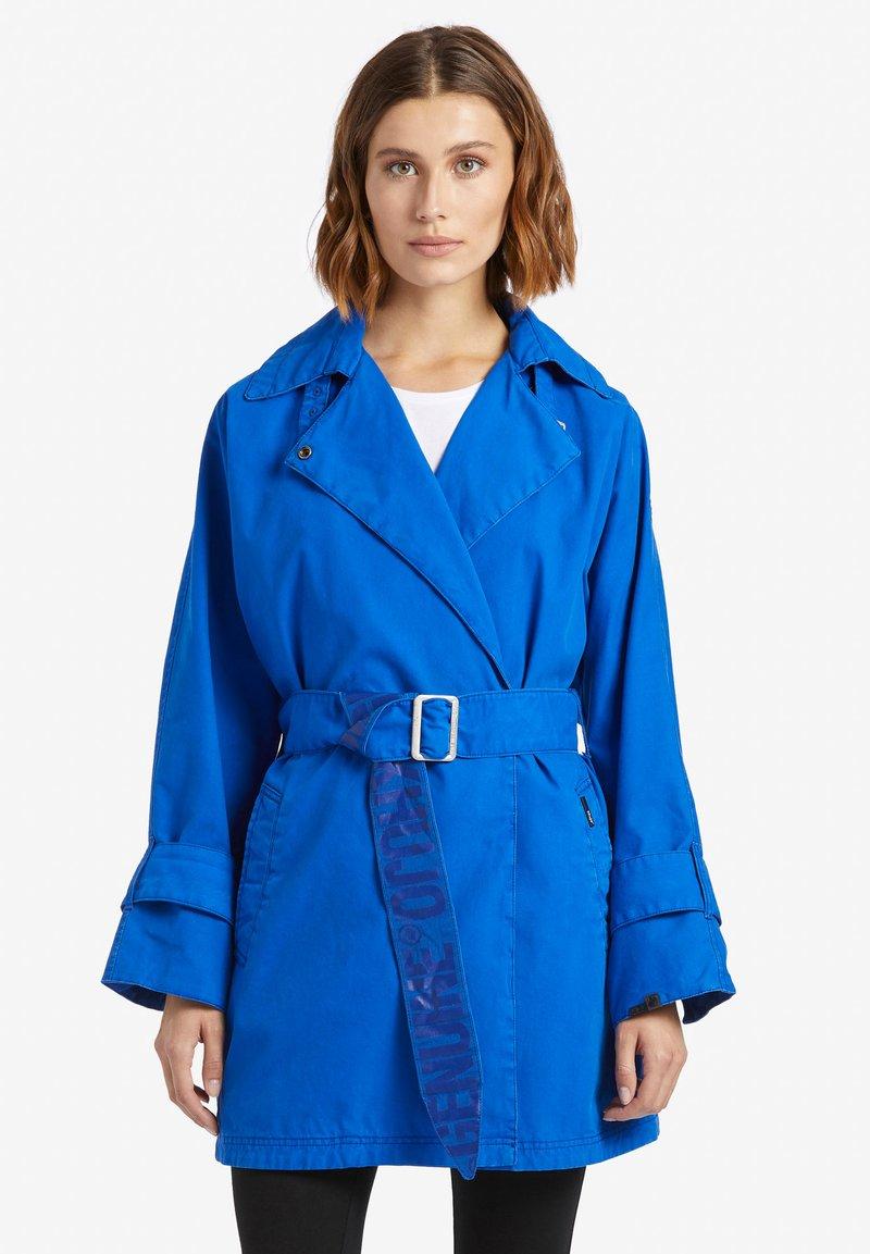 khujo - LUCILLE - Trenchcoat - dark blue