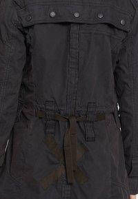 khujo - KERIM - Trenchcoat - black - 5