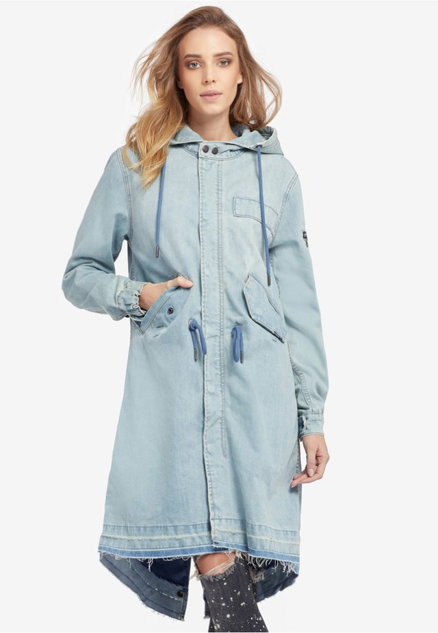 MIRANDA - Parka - blue denim