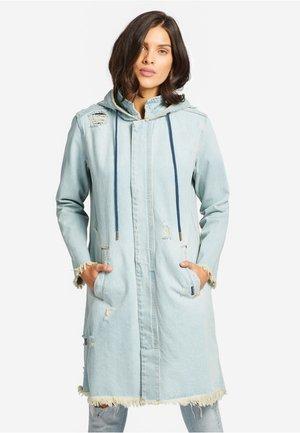 DUANA - Short coat - denim blue