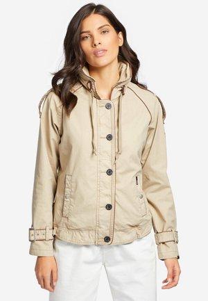 STACEY - Light jacket - camel