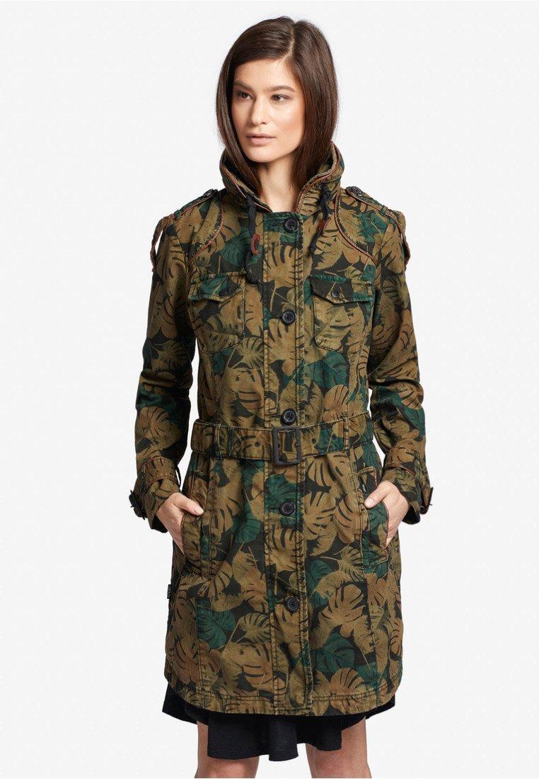 khujo - MENNA2 - Trenchcoats - brown/khaki