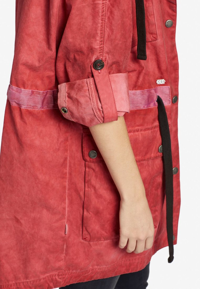khujo YACOUT - Parka - red - Manteaux Femme 4BGcL