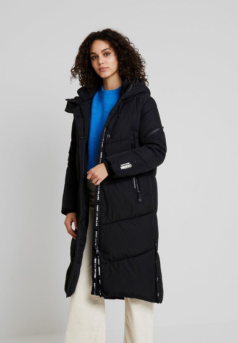 khujo - Winter coat - black