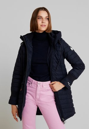 Parka - dark denim look