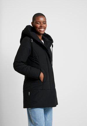 Abrigo corto - black