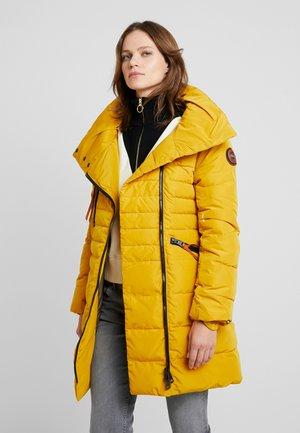 Vinterkåpe / -frakk - yellow