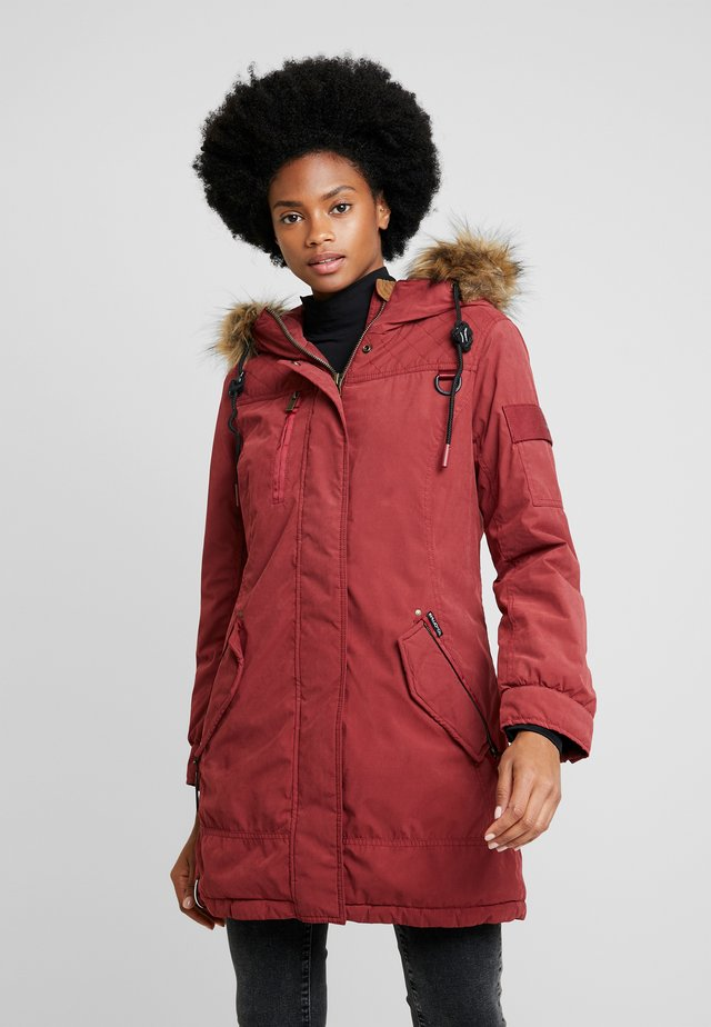 Parkas - red
