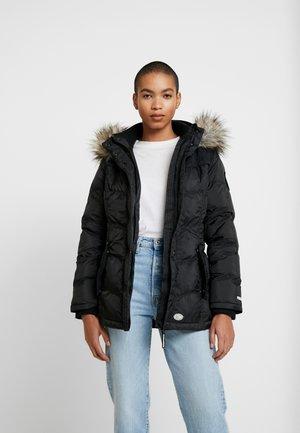 Vinterjakke - shiny black
