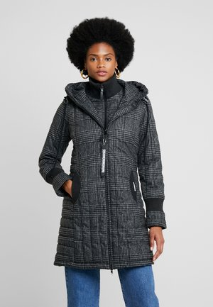 Abrigo corto - black/grey