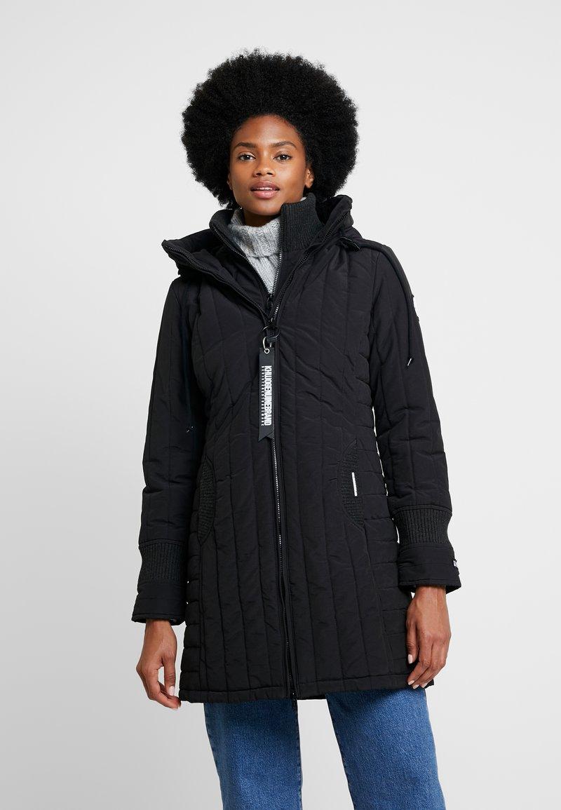 khujo - Short coat - black