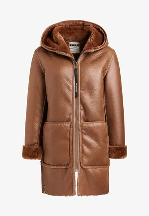 LINA - Winter coat - cognac