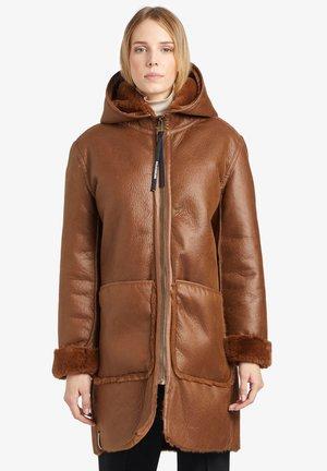 LINA - Abrigo de invierno - cognac