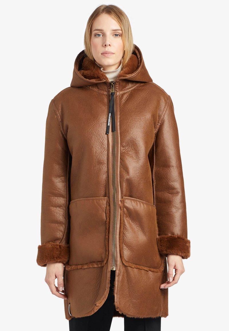 khujo - LINA - Winter coat - cognac