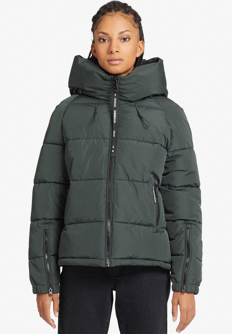 khujo - ALEXIA - Winter jacket - dark green