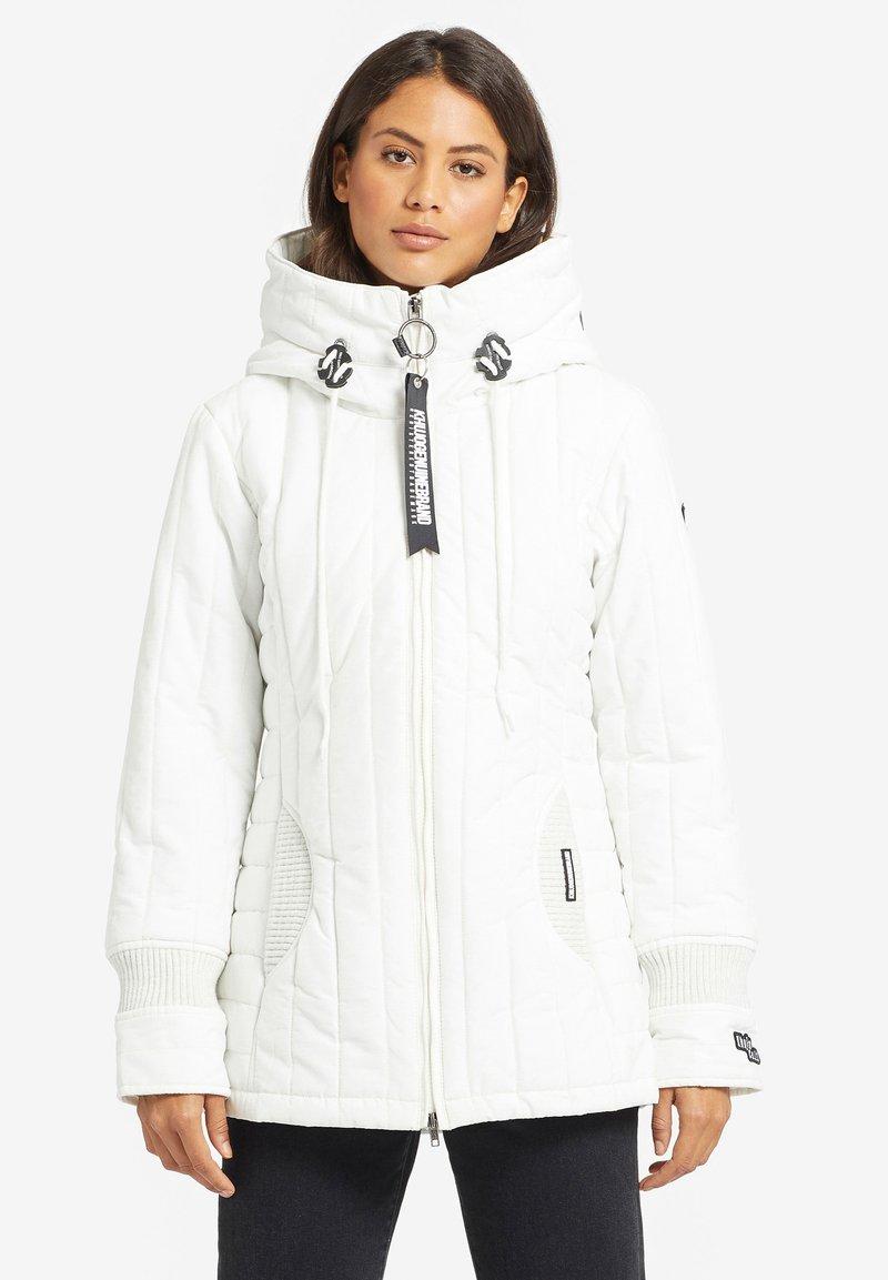 khujo - TWEETY PRIME_3 - Veste d'hiver - white