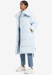 khujo - MANTEL JULIETT - Veste d'hiver - light blue - 1