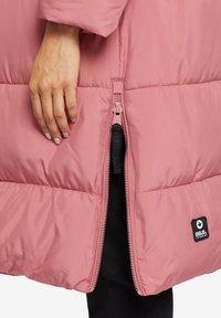 khujo - MANTEL JULIETT - Winter coat - altrosa - 5