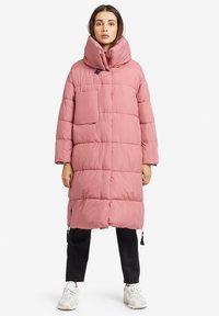 khujo - MANTEL JULIETT - Winter coat - altrosa - 1