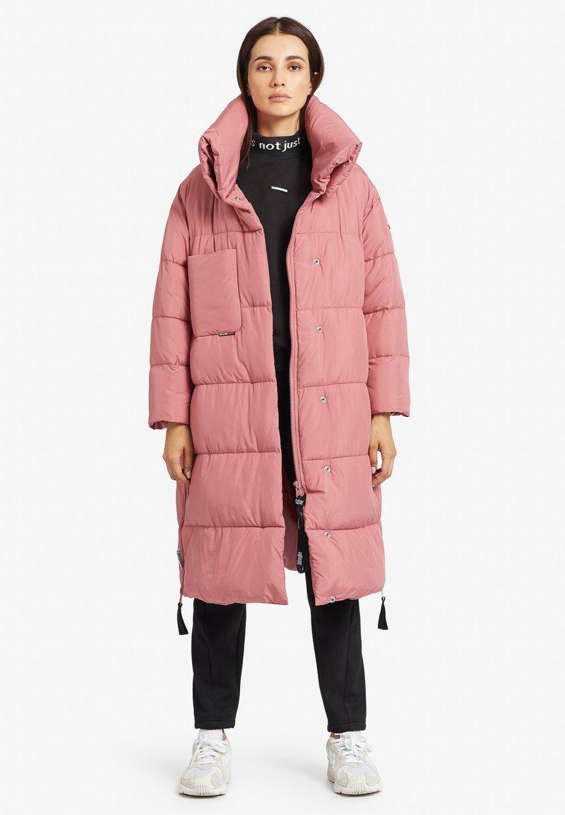 khujo - MANTEL JULIETT - Winter coat - altrosa