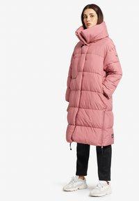 khujo - MANTEL JULIETT - Winter coat - altrosa - 4