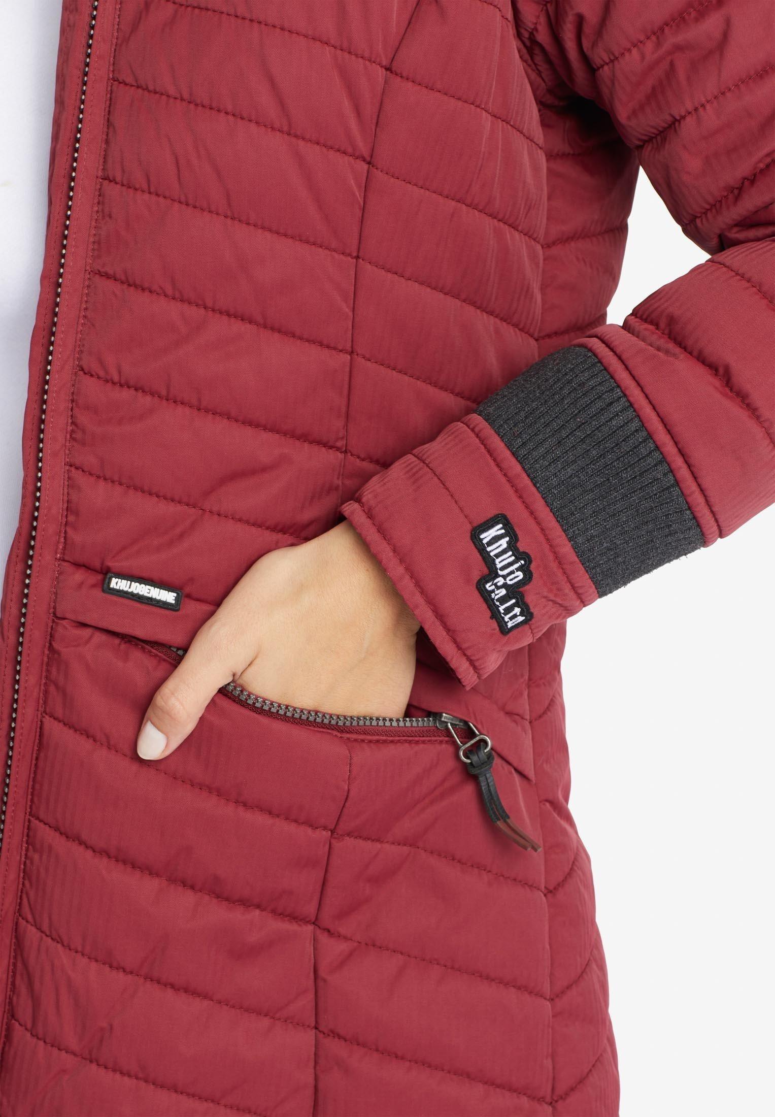 Khujo Toots - Winterjas Red h4ftEU31